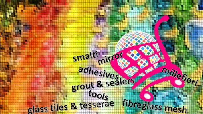 the mosaic store and online mosaic shop - studio OzMosaics Australia - largest range of mosaic supplies and materials including smalti!